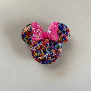 Minnie Mouse Birthday Straw Topper